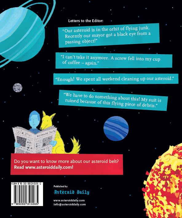 Beyond the Sky – graphic novel by Jan Ciecierski and Joachim Ciecierski – space junk – space debris – book spreads25